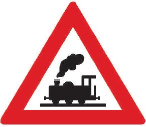Železniční přejezd bez závor