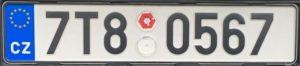 Registrační značky v Česku
