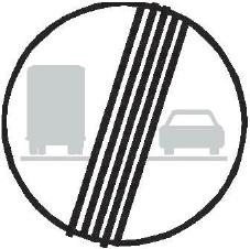 Konec zákazu předjíždění pro nákladní automobily