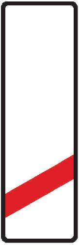 Návěstní deska (80 m)