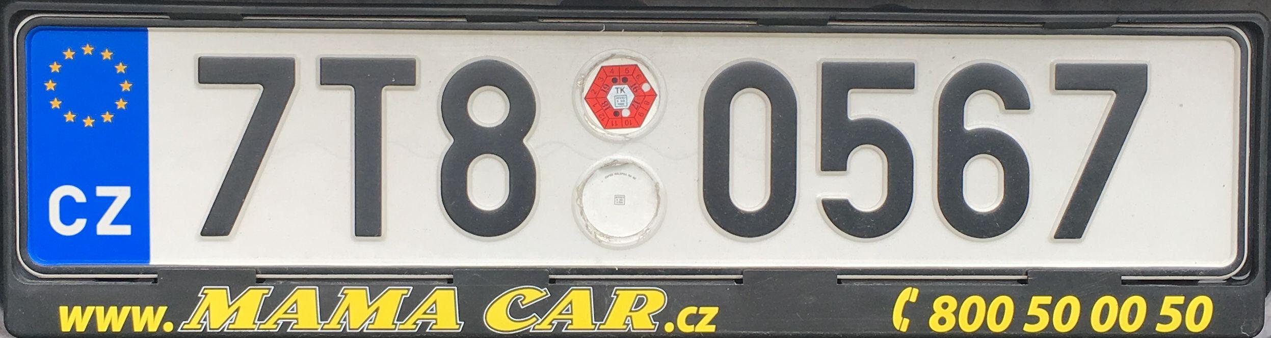 Registrační značky: T- Moravskoslezský kraj, foto: vlastní