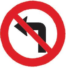 Zákaz odbočování vlevo