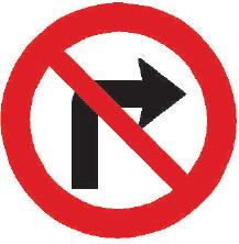 Zákaz odbočování vpravo