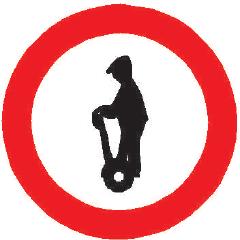 Zákaz vjezdu osobních přepravníků