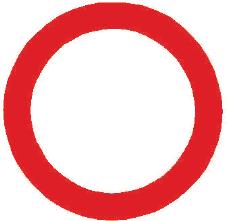 Zákaz vjezdu všech vozidel v obou směrech