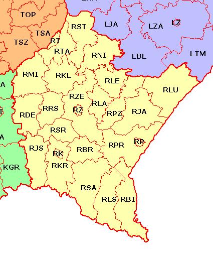 R - Podkarpatské vojvodství-