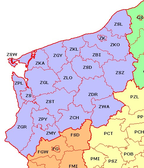 Z - Západopomořanské vojvodství