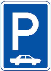 Parkoviště kolmé nebo šikmé stání