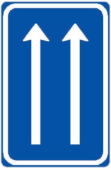Uspořádání jízdních pruhů