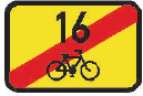 Konec cyklistické trasy
