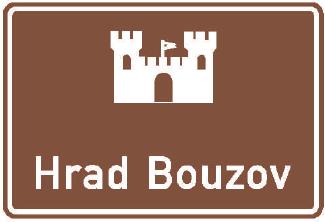 Návěst pro kulturní nebo turistický cíl