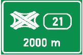 Označení křižovatky
