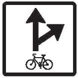Povolený směr jízdy cyklistů