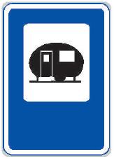 Tábořiště pro obytné přívěsy