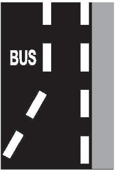 Nápis na vozovce