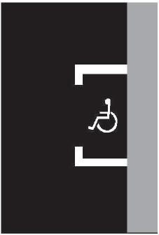 Vyhrazené parkoviště pro vozidlo přepravující osobu těžce postiženou nebo osobu těžce pohybově postiženou