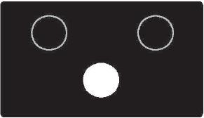 Přerušované bílé světlo signálu přejezdového zabezpečovacího zařízení