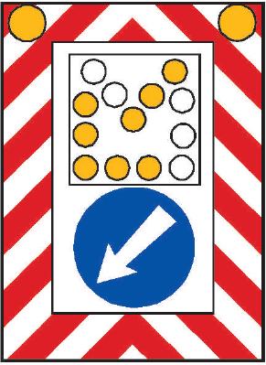 Pojízdná uzavírková tabule