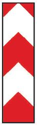 Směrovací deska středová