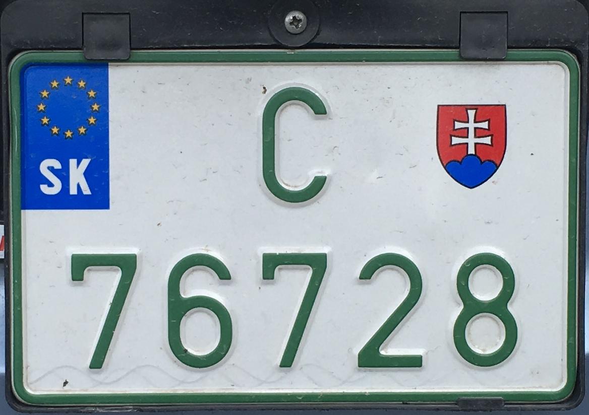 Slovenská převozní značka