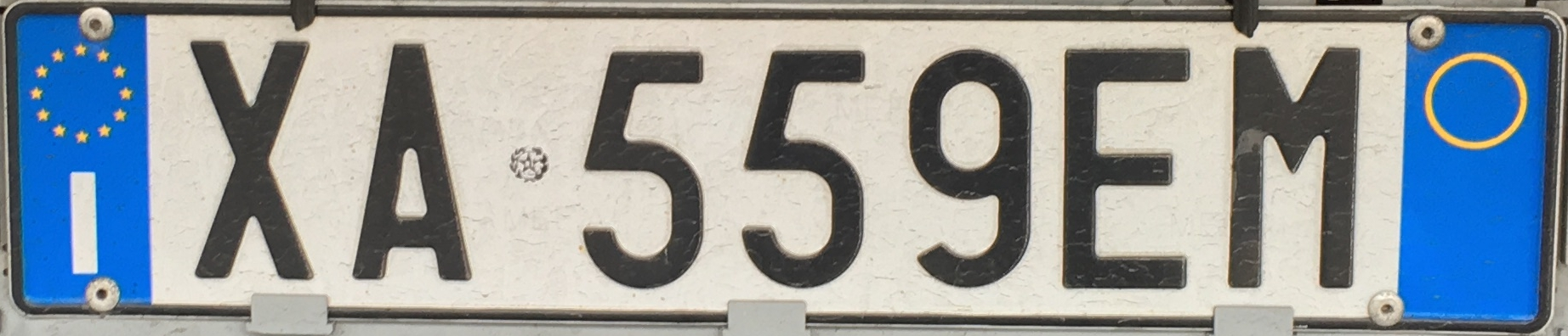 Registrační značka Itálie – přívěsy a návěsy, foto: www.podalnici.cz